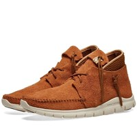 Visvim Ute Moc Mid Folk Trainer Brown