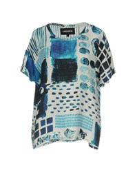 5Preview Blouses Turquoise