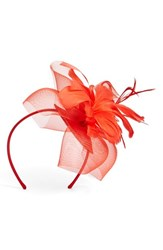 Nordstrom Feathered Sinamay Fascinator Headband