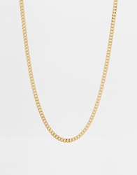 Asos Midweight Chain Gold