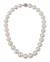Belpearl 14K Round South Sea Pearl Necklace