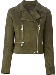 Versus Biker Jacket Green