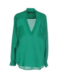 Space Style Concept Shirts Blouses Women Green