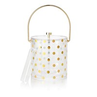 Kate Spade 'Raise A Glass' Ice Bucket Gold
