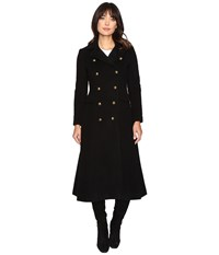Lauren Ralph Lauren Military Maxi Black Women's Coat