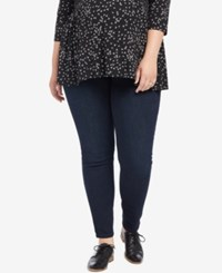 Motherhood Maternity Plus Size Dark Wash Skinny Jeans Twilight Dark Wash