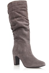 Oasis Sarah Slouch Boot Grey