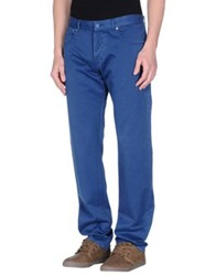 Yoon Casual Pants Dark Blue