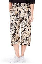 Elvi Plus Size Women's Tropical Print Culottes