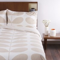Orla Kiely Giant Stem Print Duvet Cover Clay Double