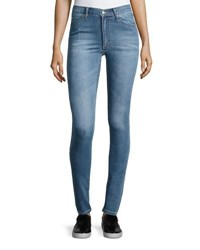 Cheap Monday Second Skin High Waist Skinny Jeans Rise Above