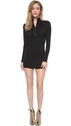 Wgaca Alaia Knit Dress Black