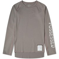 Satisfy Long Sleeve Coffee Thermal Base Layer Grey