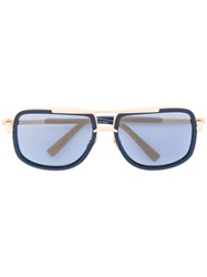 Dita Eyewear 'Mach One' Sunglasses Men Acetate Titanium 59 Blue