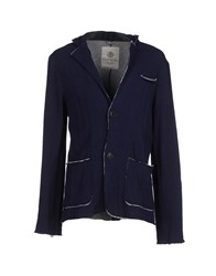 Fred Mello Suits And Jackets Blazers Men Dark Blue