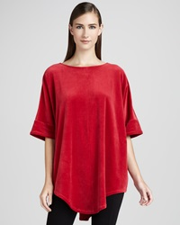 Joan Vass Velour Tunic 3 14 16