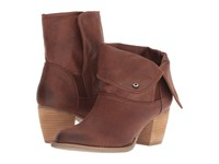 Sbicca Nicola Brown Pull On Boots