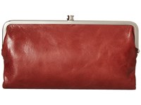 Hobo Lauren Mahogany Clutch Handbags