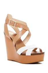 Vince Camuto Kristy Wedge Sandal Brown