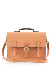 Burberry Leather Briefcase Pale Cleme
