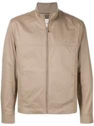 Cerruti 1881 Zipped Jacket Brown