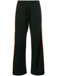 House Of Holland Missy Contrast Panelled Sweatpants Black