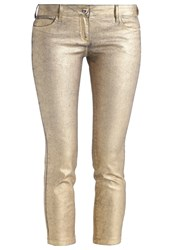 Patrizia Pepe Jeans Skinny Fit Gold Denim