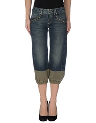 Parasuco Cult Denim Capris Blue