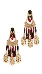 Adia Kibur Kim Earrings Plum Multi