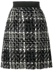Dolce And Gabbana Mini Flounce Skirt