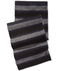 Nautica Tri Colored Striped Scarf