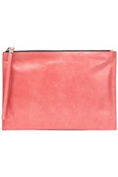 Mcq By Alexander Mcqueen Leather Clutch Coral