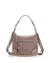 M Z Wallace Mz Wallace Small Parker Hobo Taupe Bedford