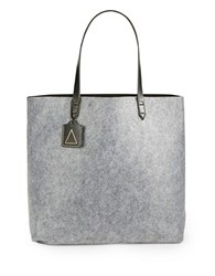 Kelsi Dagger Leather Accented Commuter Tote Graphite