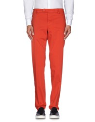 Mason's Trousers Casual Trousers Men Red