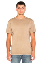 Obey New Times Micro Tee Beige