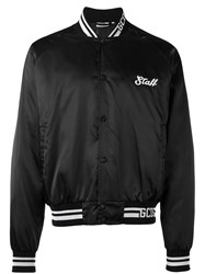 Gcds 'Get High' Print Bomber Jacket Black