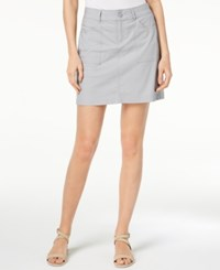 Lee Platinum Alyssa Mid Rise Skort Alloy