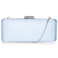 Hobbs Regent Clutch Bag Soft Blue