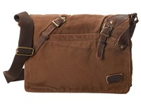 Bed Stu Declan Tan Rust Messenger Bags Brown