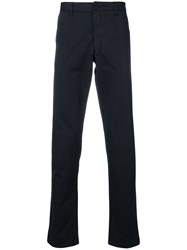 Zadig And Voltaire Straight Leg Trousers Blue