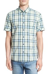 7 Diamonds 'Big Country' Plaid Short Sleeve Woven Shirt