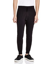 John Varvatos Star Usa Drawstring Sweatpants Black