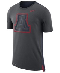 Nike Men's Arizona Wildcats Meshback Travel T Shirt Anthracite