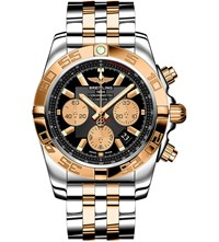 Breitling Cb011012 B968 Chronomat 44 Rose Gold And Stainless Steel Chronograph Watch