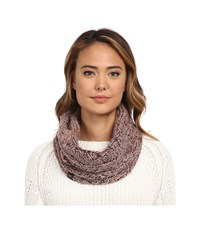 Ugg Grand Meadow Novelty Cable Snood Aster Multi Scarves Red