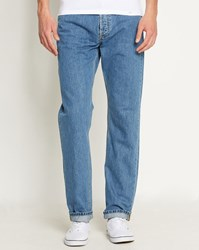 Carhartt Faded Light Blue Texas Hanford Tapered Fit Jeans