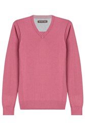 Michael Kors Collection Cotton Pullover Rose