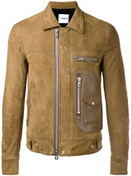 The Soloist Zipped Jacket Brown