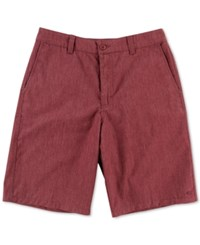 O'neill Men's Encounter Shorts Burgundy H